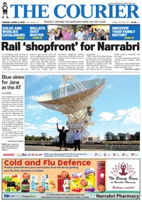 online magazine - The Courier and Wee Waa News, April 11, 2019