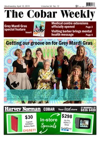 online magazine - The Cobar Weekly, April 10, 2019