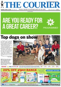 online magazine - The Courier and Wee Waa News, April 16, 2019