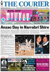 online magazine - The Courier and Wee Waa News, April 24, 2019