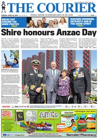 online magazine - The Courier and Wee Waa News, April 30, 2019