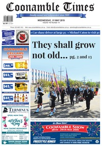 online magazine - Coonamble Times, 1 May 2019