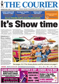 online magazine - The Courier, May 2, 2019