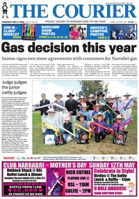 online magazine - The Courier, May 9, 2019