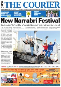 online magazine - The Courier and Wee Waa News, May 14, 2019