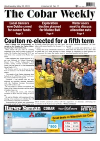 online magazine - The Cobar Weekly May 22, 2019