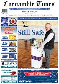 online magazine - Coonamble Times, May 22 2019