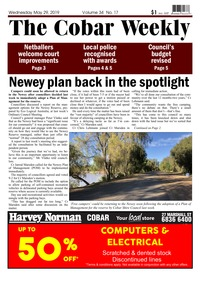 online magazine - The Cobar Weekly May 29, 2019