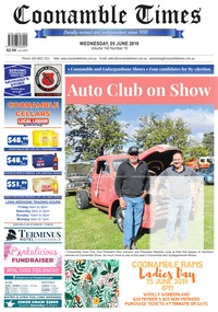 online magazine - Coonamble Times June 5, 2019
