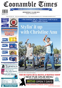 online magazine - Coonamble Times, June 19 2019