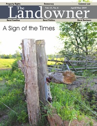 online magazine - The Landowner Magazine - April / May 2019 Volume 13 Number 6