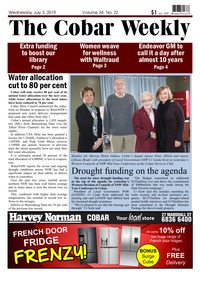 online magazine - The Cobar Weekly, July 3 2019