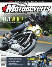 online magazine - Inside Motorcycles I Vol. 22, Iss. 06 I Oct/Nov 2019