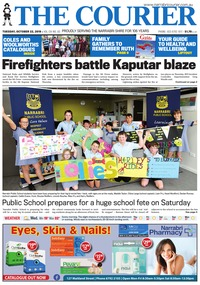 online magazine - The Courier and Wee Waa News, October 22, 2019