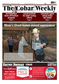 online magazine - The Cobar Weekly October 23 2019