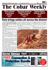 online magazine - The Cobar Weekly, November 6, 2019