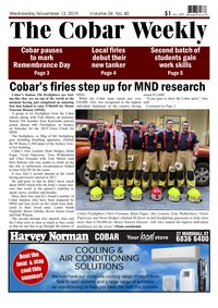 online magazine - The Cobar Weekly, November 13, 2019