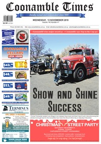 online magazine - Coonamble Times November 13, 2019
