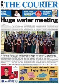 online magazine - The Courier and Wee Waa News, November 19, 2019