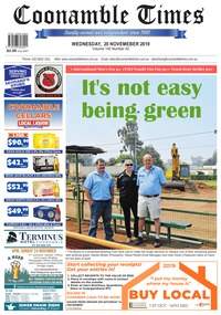 online magazine - Coonamble Times November 20, 2019