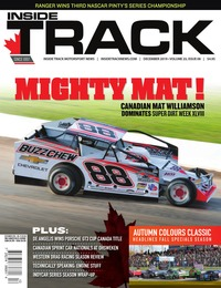 online magazine - Inside Track I Volume 23 Issue 08 I December 2019