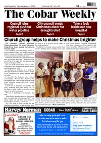 online magazine - The Cobar Weekly December 04, 2019