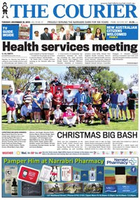 online magazine - The Courier and Wee Waa News, December 10 2019