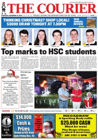 online magazine - The Courier, December 19, 2019