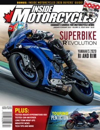 online magazine - Inside Motorcycles I Vol 22 Iss 08 I 09 I Jan I Feb 2020