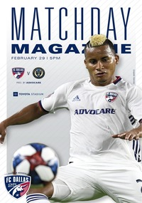 online magazine - Matchday Magazine: FC Dallas vs. Philadelphia Union 2.29