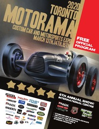 online magazine - 2020 Motorama Custom Car & Motorsports Expo Program