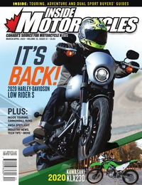 online magazine - Inside Motorcycles I Vol 23 Iss 01 I Mar I Apr 2020