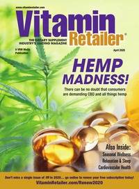 online magazine - Vitamin Retailer April 2020