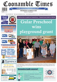 online magazine - Coonamble Times March 25