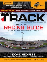 online magazine - Canadian Racing Guide I Vol. 24, Iss. 04 I July Special 2020 COMP