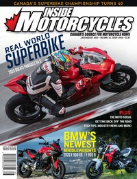 online magazine - Inside Motorcycles I Vol 23 Iss 03/04 I July I August 2020