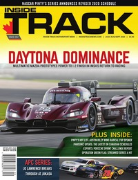 online magazine - Inside Track I Vol 24 I Iss 05 I August I September 2020