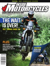 online magazine - Inside Motorcycles I Vol. 23 I Iss. 06 I Nov. I Dec. 2020