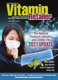 online magazine - Vitamin Retailer March 2021