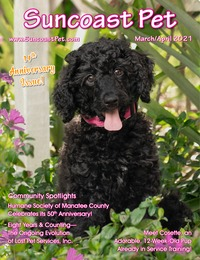online magazine - Suncoast Pet - March - April 2021 - 14th Anniversary Issue