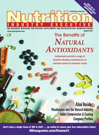 online magazine - Nutrition Industry Executive August 2021